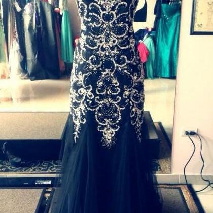 Sweatheart neck prom dress,high qua..
