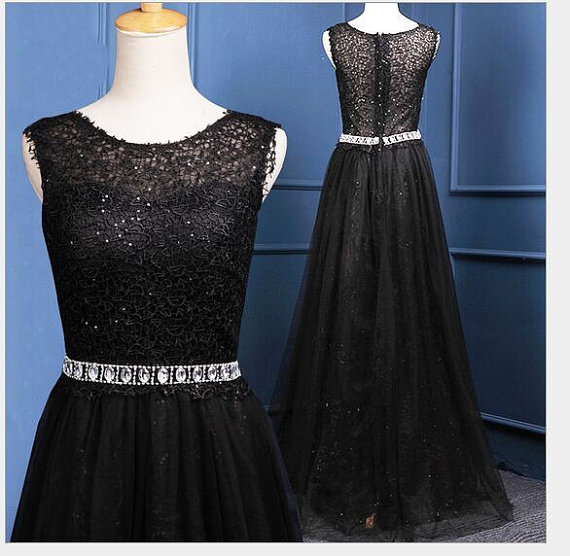 Black prom dress,sleeveless prom dress,long prom dress,lace prom dress,high quality prom dress,elegant wowen dress,party dress,evening dress,dress for teens L580