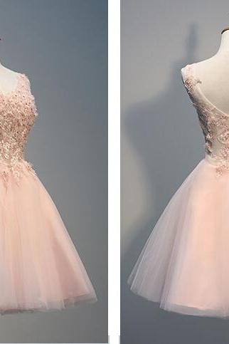 Short prom dress, homecoming prom dress, high quality hand made prom dress, beautiful lace appliques and beading prom dress,elegant wowen dress, party dress, dress for teens L811