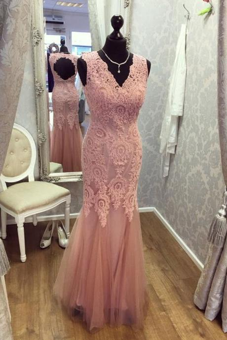 Sexy long prom dress, lace appliques long prom dress, mermaid prom dress, high quality hand made prom dress, elegant wowen dress,party dress, dress for teens L917