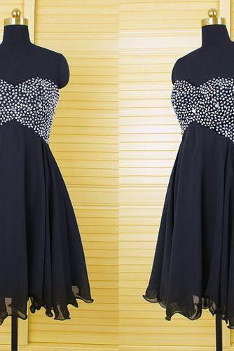 Black prom dress,homecoming prom dress,short prom dress,beatiful beading prom dress,high quality prom dress,elegant wowen dress,party dress,evening dress,dress for teens L590