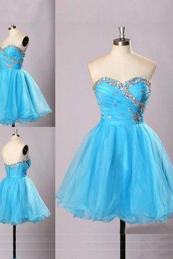 Sweatheart neck prom dress,homecoming prom dress,short prom dress,high quality custom prom dress,beautiful beading prom dress,elegant wowen dress,party dress,evening dress,dress for teens L635