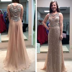 Sleeveless prom dress,long prom dress,high quality prom dress,custom dress,beautiful beading dress,elegant wowen dress,party dress,evening dress L505